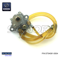 China Supplier for Qingqi Scooter Oil Pump Minarelli AM6 Engine Oil Pump Assy (P/N:ST04081-0004) Complete Spare Parts High Quality export to India Supplier