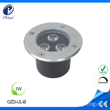 Mini aluminum housing 1W  underground led light