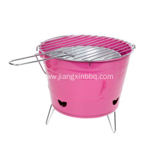 10 Inch Portable Charcoal Bucket BBQ