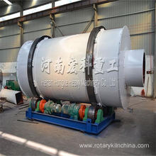 Three drums roraty dryer for drying slag