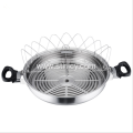 High Quality Stainless Steel Chinese Style Fry Pan