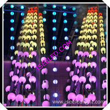Full Color RGB DMX 3D LED Cube Light