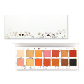 Private label eyeshadow palette14colors matte shimmer powder