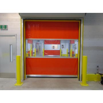 PVC Industrial Roll up Door High Speed