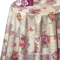 Pvc Printed fitted Xochi Dekorama  table covers