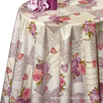 Pvc Printed fitted table covers Decor Ideas