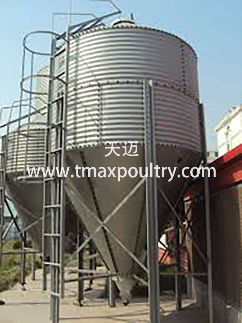 Poultry Farming System Silo