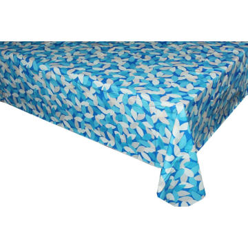 Pvc Printed fitted table covers 60Degree Free Pattern