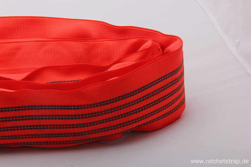 5T High Quality Polyester Round Slings For Crane