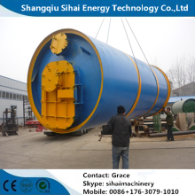 Waste Tire Pyrolysis Carbon Black And Fuel Oil