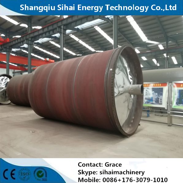 Used Tyre Recycling to Fuel Oil Machine