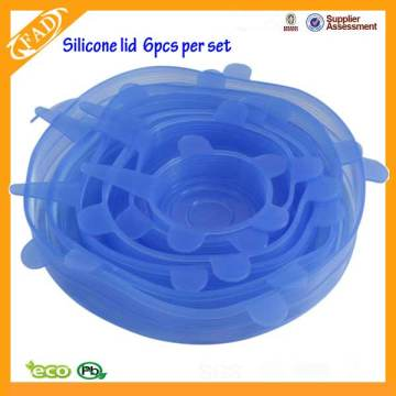 Holiday sales for Kitchen Silicone Stretch Lids Flexible Silicone Sealing Cover Lid supply to Marshall Islands Factory