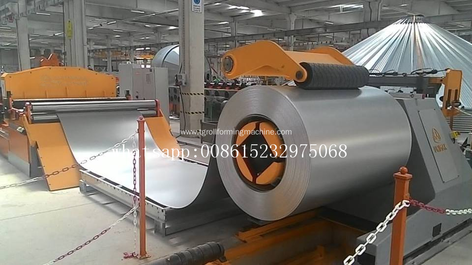 European quality Silo Roof Making Machine