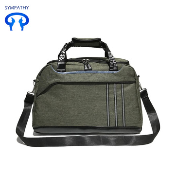 Luggage bag fitness training with large slanting capacity