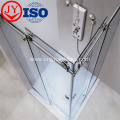 Bathroom glass hinge brass 180 degree shower hinge