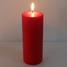 Factory Supply for Scented Pillar Candles Cheap large size 8inch tall red decorative pillar candles supply to India Exporter