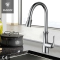 High Arc Tradition Pull-Down Sprayer Kitchen Mixer Tap