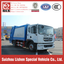 Garbage Compactor Truck Dongfeng 10 cbm Garbage Truck