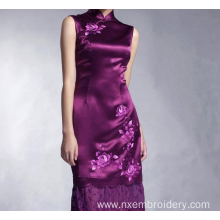 China for Hand Embroidery Cheongsam Dress Retro Long Section  Hand Embroidery  Cheongsam supply to Bangladesh Manufacturer