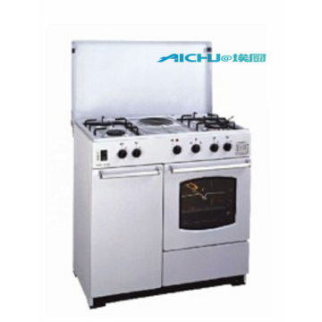 4 Burners Freestanding Gas Cooker Oven