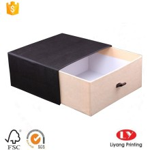 Paper drawer sliding box for jewelry gift packaging