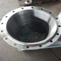 Large Bore Carbon Steel Forged Plate Flange