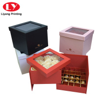 Fancy Custom Luxury Chocolate Cardboard Gift Packing Box