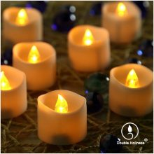 bulk flameless moving wick led tea lights candle