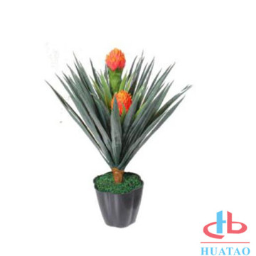Beautiful Plant Pots Artificial With Plastic Flower