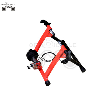 red indoor resistance smart bicycle trainer