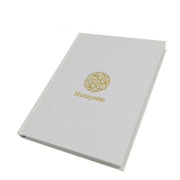 Hardcover Notebook med tykt papir