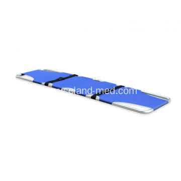 Cheap Patient Transport First-Aid  Single  Folding Ambulance Stretcher