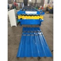 Double Layers Metal Sheets Roofing Machine