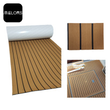 Light Brown + Black Color Marine EVA Foam Boat Mat