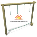 Wooden Swing Equipment Balancing HPL Playground for kids