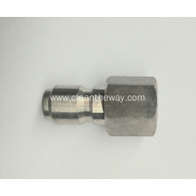 "Pressure Washer 1/4"" Female NPT-F S.S. Quick Connect Plug 4000 PSI"
