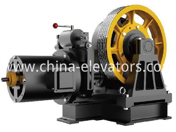 cargo elevator geared machine
