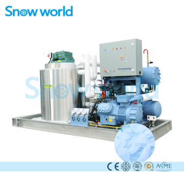 Snow world 6T Flake Ice Machine With Bin