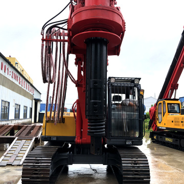 40M drill depth crawler rotary drilling rig