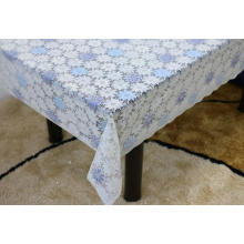 Printed pvc lace tablecloth by roll gauge