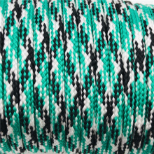 Paracord  nylon/polyester mixed diamond braided rope