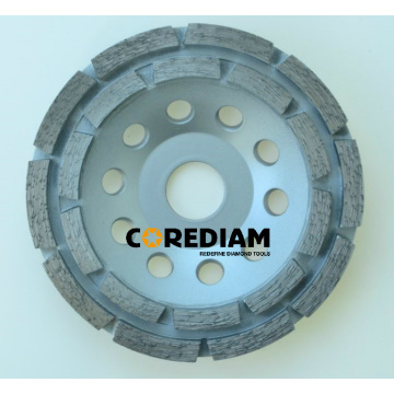 Factory directly sale for China Double Row Grinding Cup Wheel, Double Row Abrasive Cup Wheel, Double Row Abrasive Wheels, Double Row Diamond Cup Wheel Double-row Diamond Grinding Wheel supply to Trinidad and Tobago Manufacturer