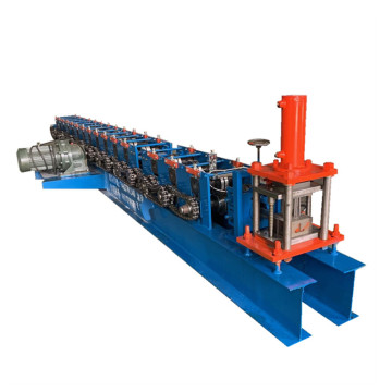 Cage guide light steel keel roll forming machine
