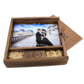 Maple Custom Photo Unique Album Wood Box USB