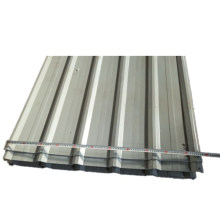 White Color 0.3mm-0.4mm Thickness Corrugated Steel Sheet
