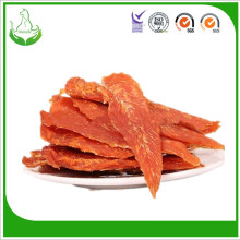 Factory making for Dry Dog Treat Natural chicken jerky breast dog treats dry pet-food supply to Portugal Wholesale