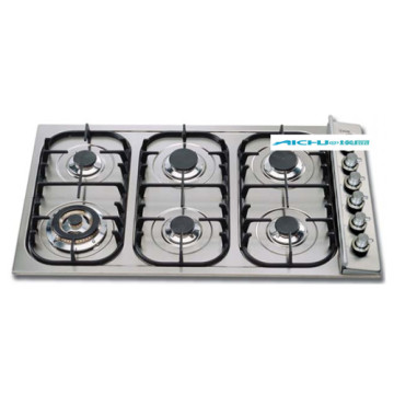 Prestige Gas Stove 6 Burners Stainless Steel Cooker