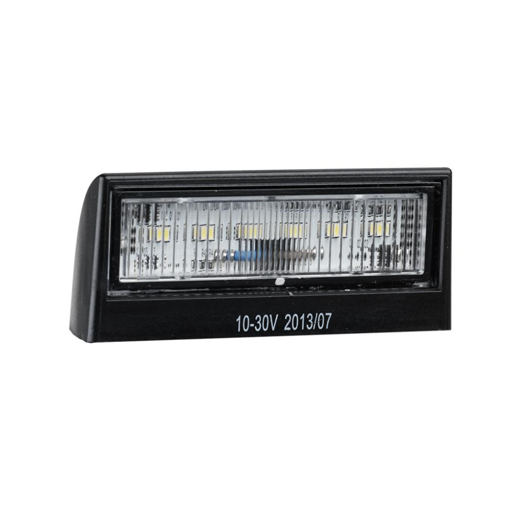 10-30V Trailer No Plate Lamps With ADR
