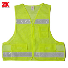 Disposable Yellow Work reflective clothes