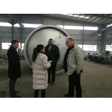waste oil sludge to energy pyrolysis machine